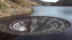 glory hole ladybower dam west spillway shaft youtube