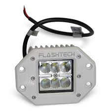 flush mount led lights 12v flashtech led fog light 6 led flush mount white