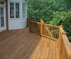 deck and fence pressure washing refinishing sealing cary nc