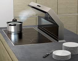 hottes de cuisine silencieuse hotte de cuisine intégrée au plan de travail silencieuse
