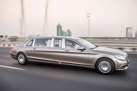 lexus limousine dubai mercedes maybach pullman dubai backseat ride automobile magazine
