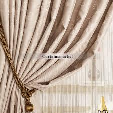 Custom Blackout Drapes Blackout Curtains And Pink Color Leaf Patterned