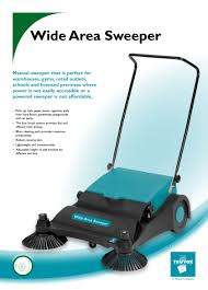 truvox wide area sweeper manual