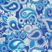 paisley fabric wallpaper u0026 gift wrap spoonflower