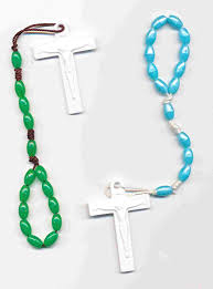 how to make a rosary one decade rosary