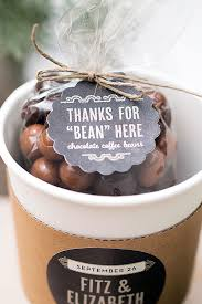 coffee wedding favors the coffee lover s guide to wedding favors beau coup