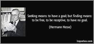 Seeking Free Seeking Means To A Goal But Finding Means To Be Free To