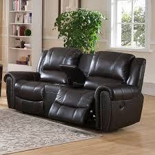 Best Leather Recliner Sofa Reviews Amax Top Grain Leather Reclining Loveseat With Memory