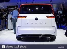 volkswagen concept van volkswagen vw budd e concept electric van at the geneva motor show