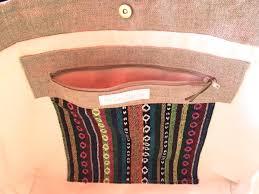 sac cabas en lin sac cabas lin bohème tendances du monde