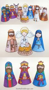 701 simple nativity crafts kids images