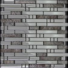 Glass Tile Bathroom Backsplash by Glass Mosaic Kitchen Backsplash Tile Stainless Steel Mosaic