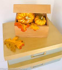 Yellow Decorative Box Diy Lacquer Decorative Boxes Four Generations One Roof