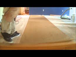 nail hardwood floor underlayment how to