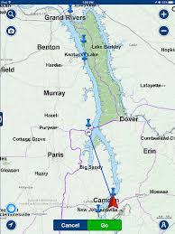 Cumberland Lake Map Balakera Com Circumnavigating Australia And America U0027s Great Loop