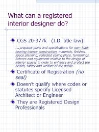 Certificate Of Interior Design by Construction Documents Required By The Connecticut Building Code