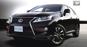 2013 lexus rx facelift gets spindle grille and new f sport variant