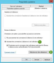 connexion bureau à distance windows xp windows server 2016 les basiques avant l installation d un rôle