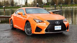lexus rc 2016 lexus rc f test drive review