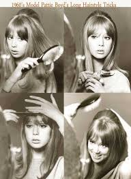 models of the 1960 with hair 1960s long hairstyle tips by sixties model pattie boyd