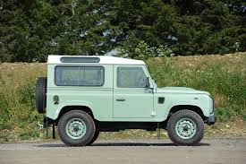 green land rover rowan atkinson u0027s land rover defender