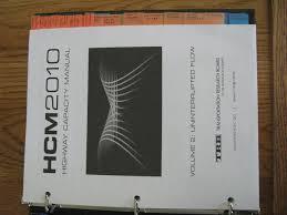 highway capacity manual hcm 2010 3 volume set trb publications