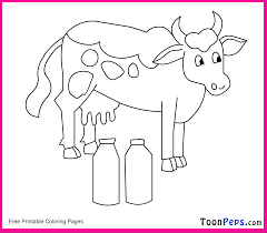 milk coloring pages cow coloring pages 2 coloring page