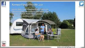 Kampa Caravan Awnings 2015 Kampa Fiesta Air Pro 420 Caravan Awning Youtube