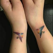 43 cheery bird tattoos to brighten up your mood and day