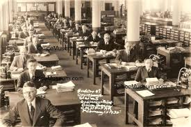 bureau om office photos 1930s 1950s