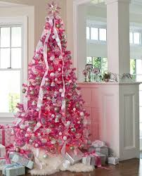pink christmas tree tree this attention grabbing hot pink tree feels like a winter