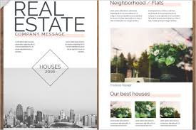real estate flyer examples real estate flyer templates psd free design ideas creative