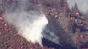 Ca Wildfire Containment by Lake Arrowhead News Abc7 Com