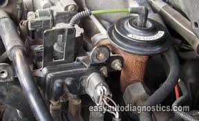 ford ranger egr valve problems part 1 how to test the ford egr valve egr vacuum solenoid dpfe