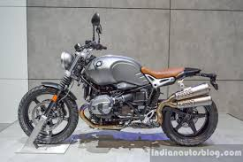 2016 Bmw R Ninet Scrambler Left Side At 2016 Bims Indian Autos Blog