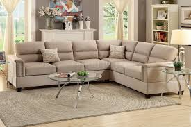 f7860 sectional sofa in sand fabric by boss