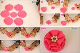 tutorial membuat instagram in my hand cara membuat bros bunga mutiara dari kain flanel handy craft