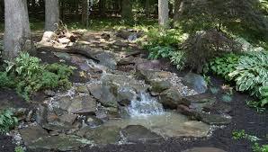 building a backyard stream in potomac maryland premier ponds