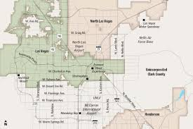 Las Vegas Traffic Map Las Vegas City Council May Add Nearly 900 Acres To City Land U2013 Las