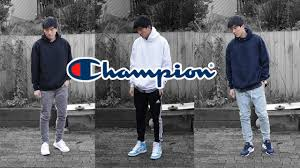 amazing affordable hoodies lookbook with champion s700 youtube