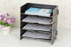 accesoires de bureau bureau accessoires creative étagère de rangement bureau documents