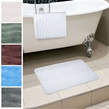 Bathroom Mats Set by Amazon Com Lavish Home 2 Piece Memory Foam Bath Mat Set Platinum