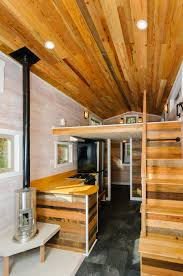 a custom 230 square feet tiny house on wheels in bowling green