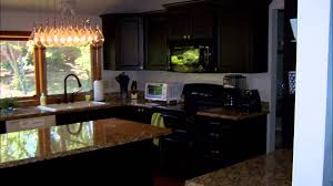 foil kitchen cabinets black thermofoil refacing project review colorado cabinet