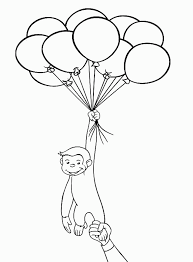 curious george coloring pages download print free