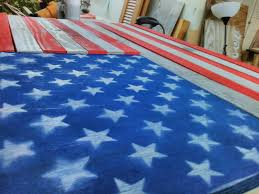 How Many Star On The American Flag American Flag Concealed Gun Compartment That Hangs On Wall 8