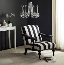 Burgundy Accent Chair Burgundy Striped Accent Chair Black And White On Modern Home