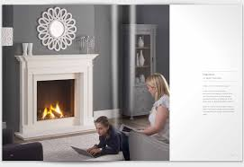 sovereign fireplaces brochure graphic design brochure design