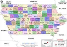 map of iowa towns iowa county map iowa counties