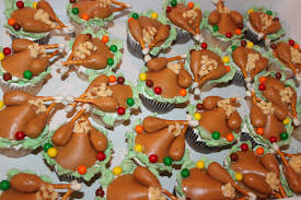 Thanksgiving Dinner Cupcakes Create It Dabble Thanksgiving Day Place Settings